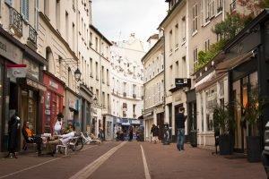 Commerces et restaurant de Saint-Germain-en-Laye