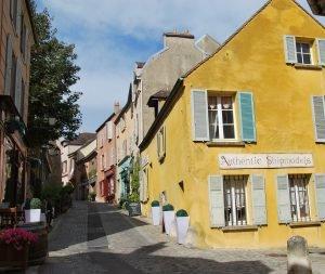 le village de Marly le Roi dans les Yvelines