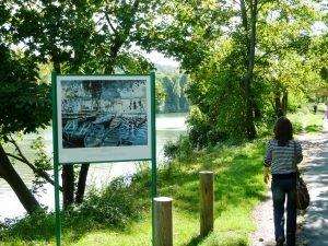 Le chemin des Impressionnistes à Croissy-sur-Seine