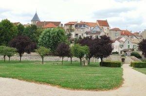 Parc de la mairie et village de Carrières-sur-Seine