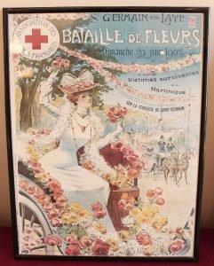 Affiche Bataille de fleurs