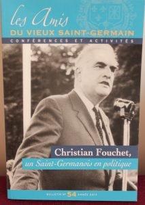 Les amis du Vieux Saint-Germain - Christian Fouchet