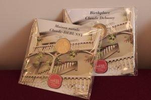 Encarts médailles Debussy
