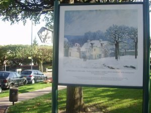Le chemin des Impressionnistes à Marly-le-Roi