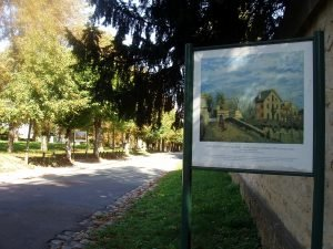 Le chemin des Impressionnistes à Louveciennes