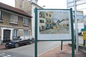 Le chemin des Impressionnistes au Port-Marly