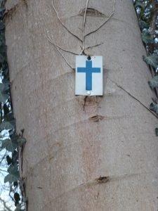 Sentier des oratoires, forêt de Saint-Germain-en-Laye