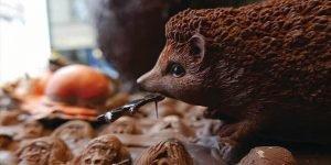 Patrick Roger, hérisson en chocolat