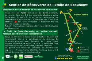 Sentier forêt de Saint-Germain