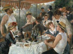Déjeuner des canotiers à Chatou, Renoir